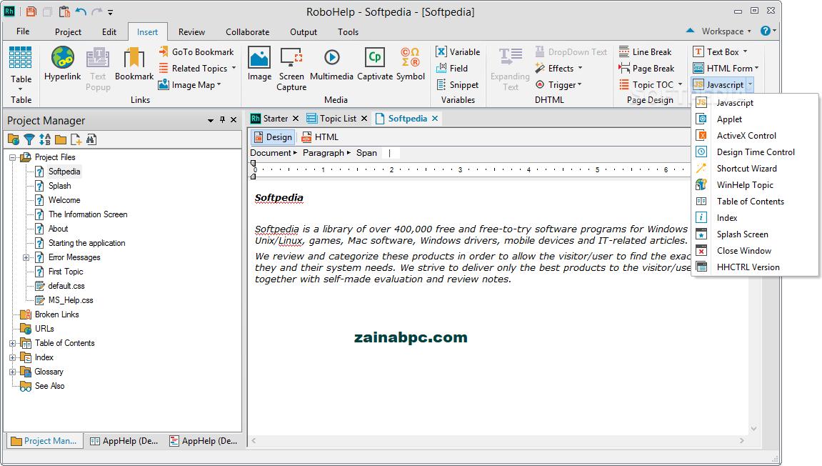 Adobe RoboHelp Crack - zainabpc.com