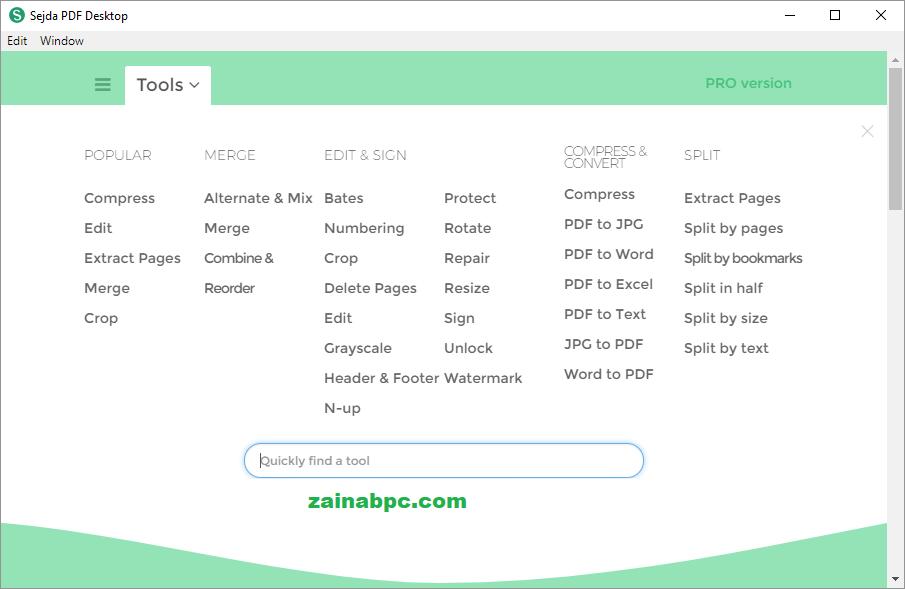 Sejda PDF Desktop Pro Crack - zainabpc.com