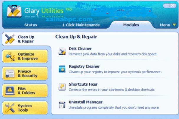 Glary Utilities Pro Crack - zainabpc.com