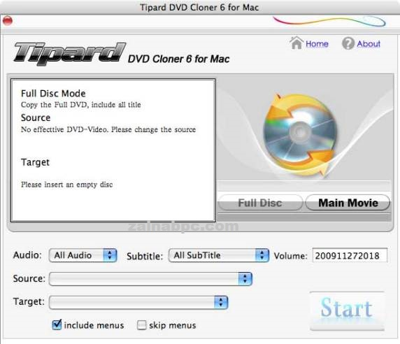 Tipard DVD Cloner Crack - zainabpc.com